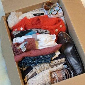 Mystery box bundle H&M Hera sweater dress legging